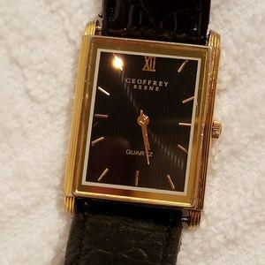 Vintage Geoffrey Beene Gold Plated Watch